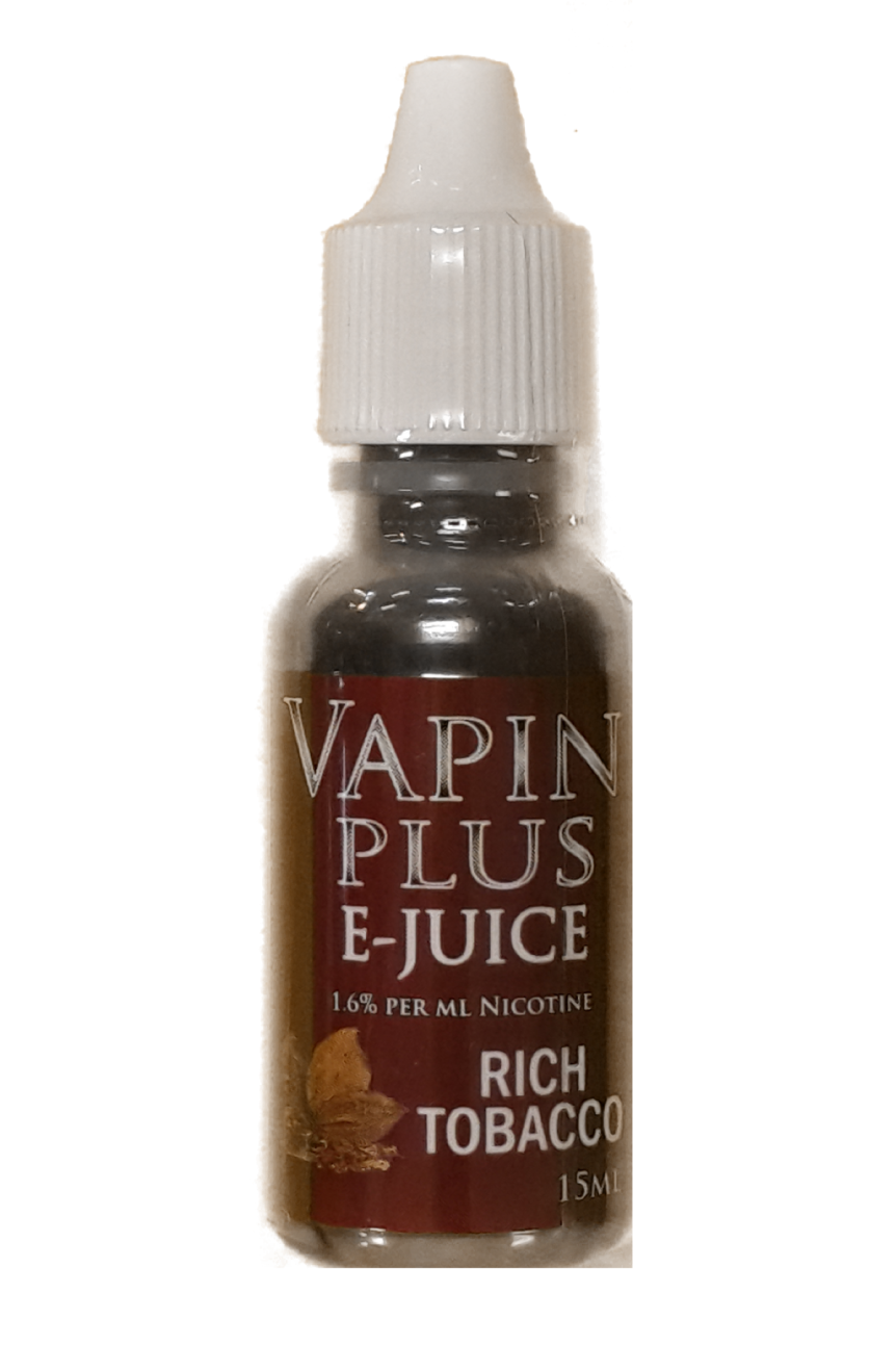 Vapin Plus Rich Tobacco E-Juice 15ML