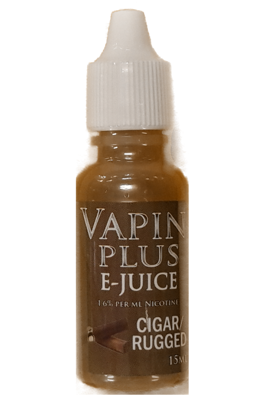 Vapin Plus Cigar/Rugged E-Juice 15ML