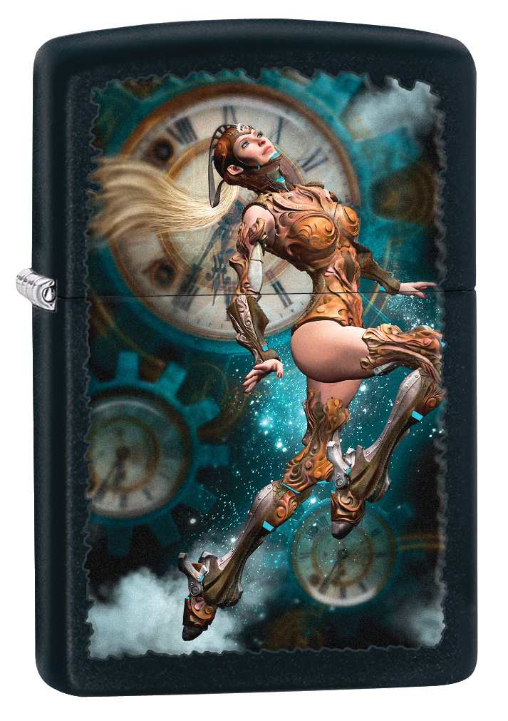 Steampunk Aviator Windproof Zippo Lighter
