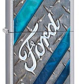 Ford Chrome Zippo Lighter