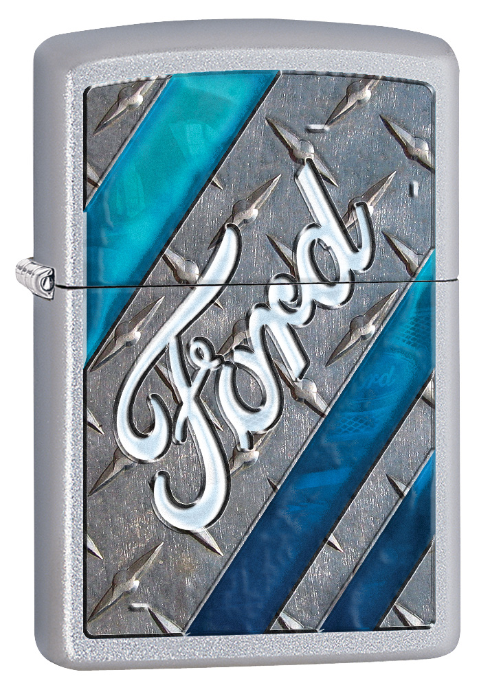 Ford Chrome Zippo Lighter