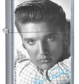 Elvis Street Chrome Windproof  Zippo Lighter