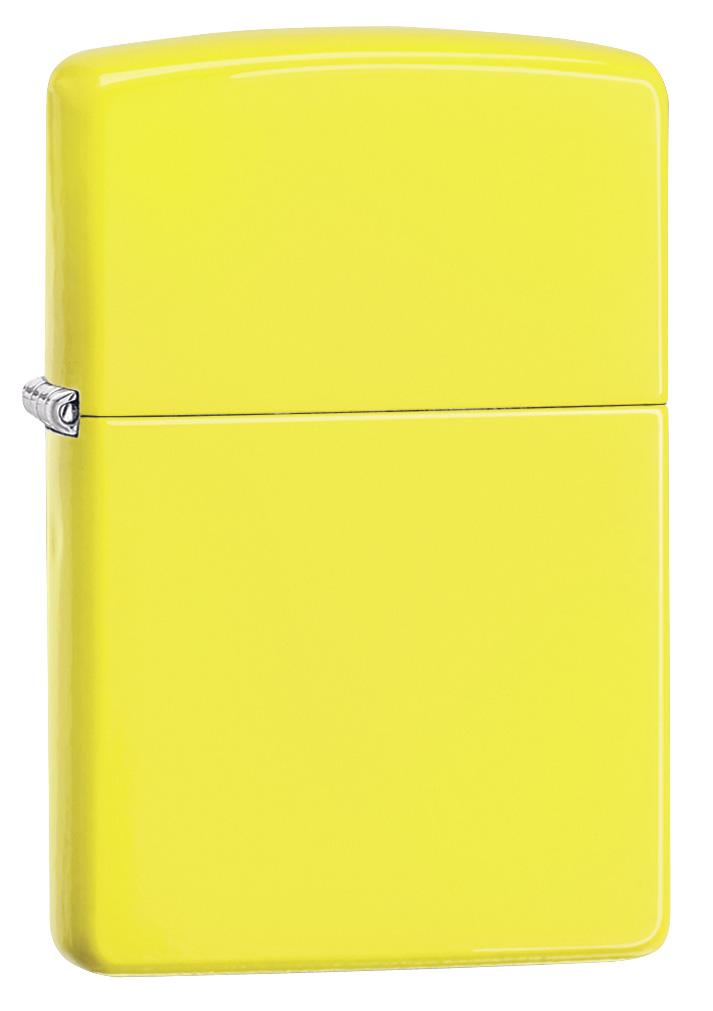 Lemon Matte Zippo Lighter