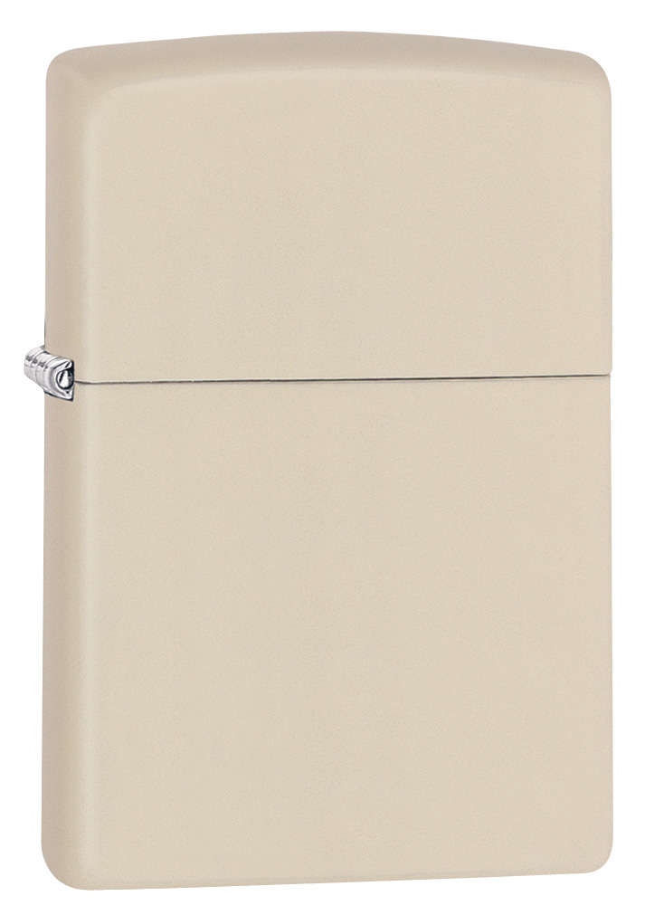 Regular Cream Matte Zippo Lighter