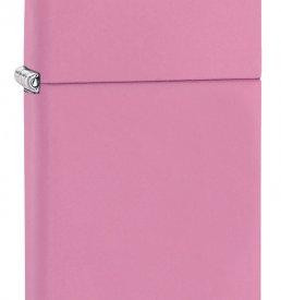 Slim Pink Matte Zippo Lighter