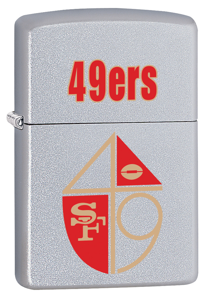 NFL Retro  San Francisco 49ers Windproof Zippo Lighter