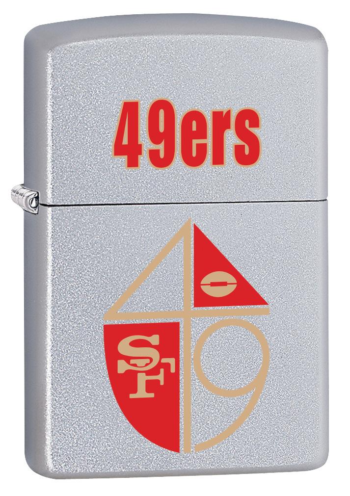 NFL Retro  San Francisco 49ers Windproof Zippo Lighter