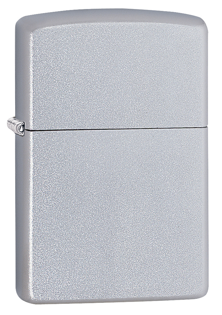 Regular Satin Chrome Zippo Lighter