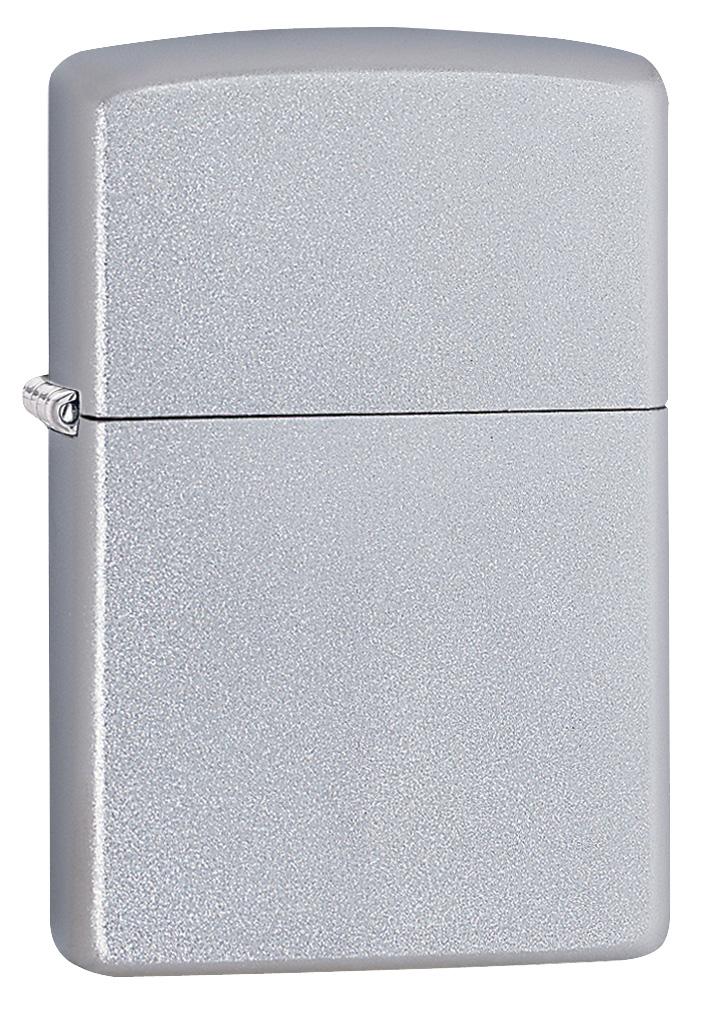 Regular Satin Chrome Zippo Lighter